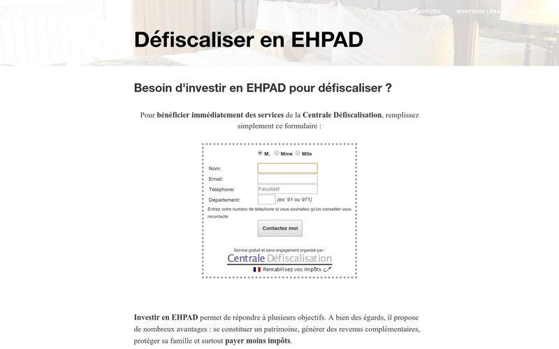 Défiscaliser en EHPAD