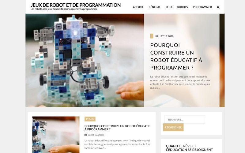 Jeux de robot et de programmation - Les robots, des jeux éducatifs pour apprendre à programmer