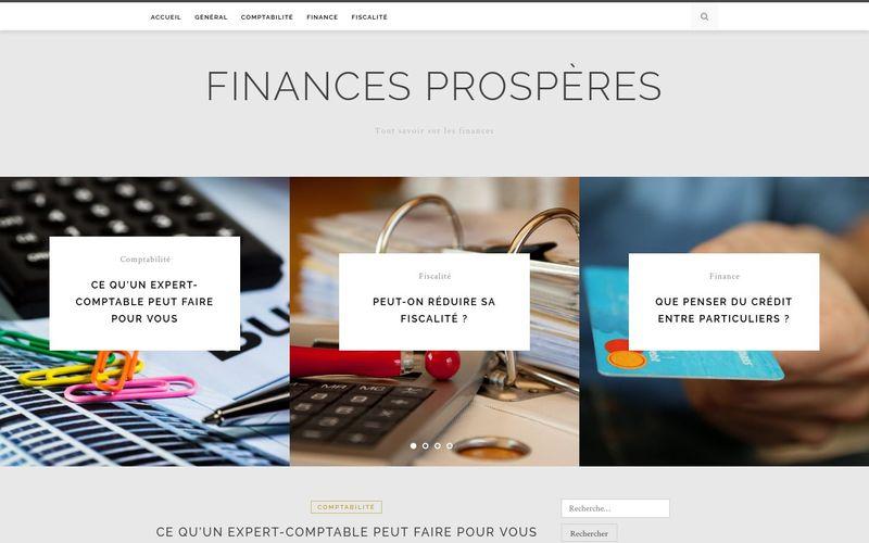 Finances prospères - Tout savoir sur les finances