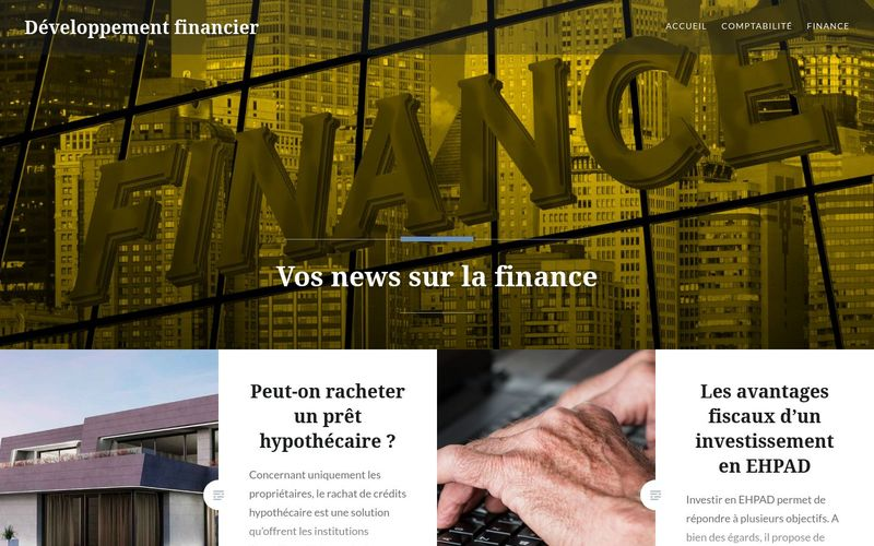 Développement financier - Vos news sur la finance