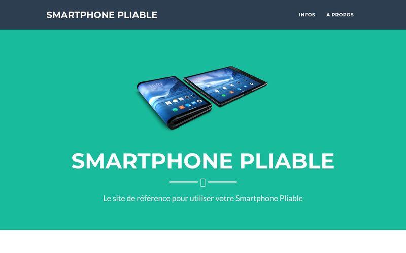 Les premiers smartphones pliables seront chers