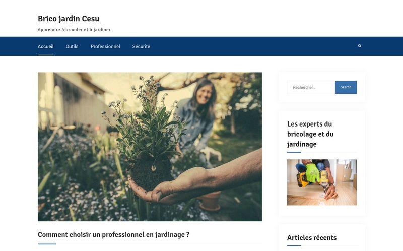 Brico jardin Cesu - Apprendre à bricoler et à jardiner